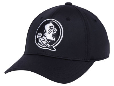 Florida State Seminoles Top of the World NCAA Phenom Flex Black White Cap