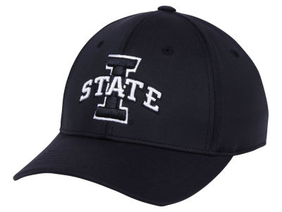 Iowa State Cyclones Top of the World NCAA Phenom Flex Black White Cap