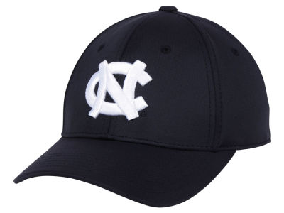 North Carolina Tar Heels Top of the World NCAA Phenom Flex Black White Cap