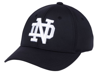 Notre Dame Fighting Irish Top of the World NCAA Phenom Flex Black White Cap