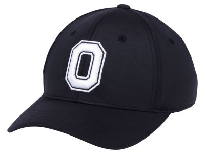 Ohio State Buckeyes Top of the World NCAA Phenom Flex Black White Cap