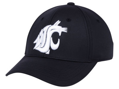 Washington State Cougars Top of the World NCAA Phenom Flex Black White Cap
