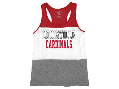 Louisville Cardinals NCAA Women's Racerback Panel Tank