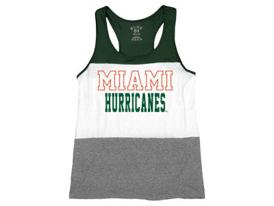 Miami Hurricanes NCAA Women's Racerback Panel Tank