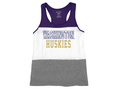 Washington Huskies NCAA Women's Racerback Panel Tank