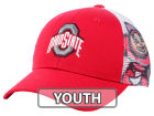 Ohio State Buckeyes Top of the World NCAA Youth Stady Adjustable Cap Trucker Hats