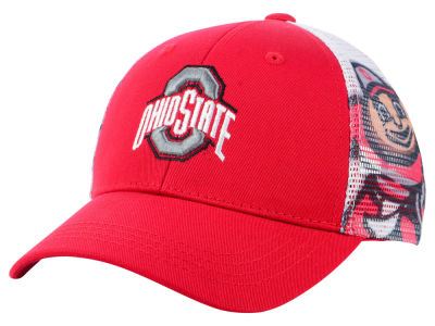 Ohio State Buckeyes Top of the World NCAA Youth Stady Adjustable Cap