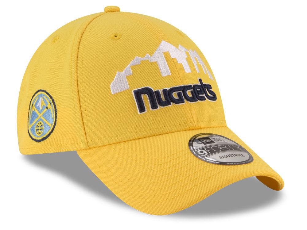 big sale a0d7a 08db8 coupon for denver nuggets new era nba statement jersey hook 9forty cap  b25b2 a450c