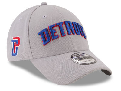 Detroit Pistons New Era NBA Statement Jersey Hook 9FORTY Cap