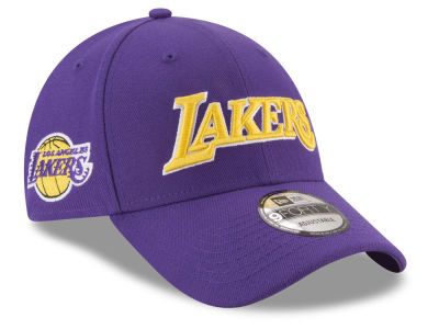 Los Angeles Lakers New Era NBA Statement Jersey Hook 9FORTY Cap