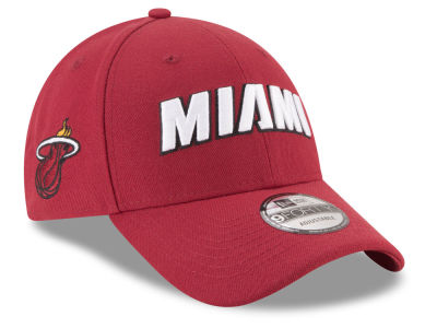 Miami Heat New Era NBA Statement Jersey Hook 9FORTY Cap