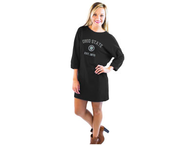 Ohio State Buckeyes Gameday Couture NCAA Women's T-Shirt Dress