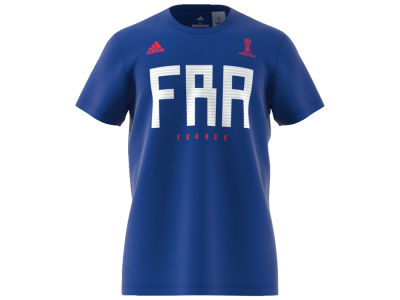 new product 398e3 497a4 France adidas 2018 World Cup Mens Country T-shirt