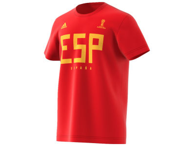 Spain adidas 2018 World Cup Men's Country T-shirt