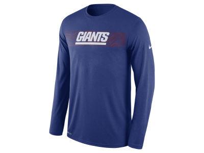 New York Giants Nike NFL Men s Legend On-Field Seismic Long Sleeve T-Shirt fa85fef76