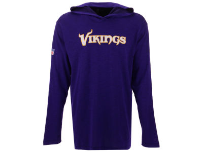 640313e21 Minnesota Vikings Nike NFL Men s Dri-Fit Cotton Slub On-Field Hooded T-