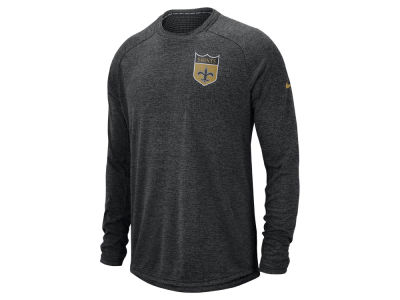 New Orleans Saints Nike 2018 NFL Men's Stadium Long Sleeve T-Shirt