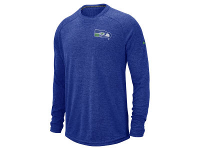 Seattle Seahawks Nike 2018 NFL Men's Stadium Long Sleeve T-Shirt
