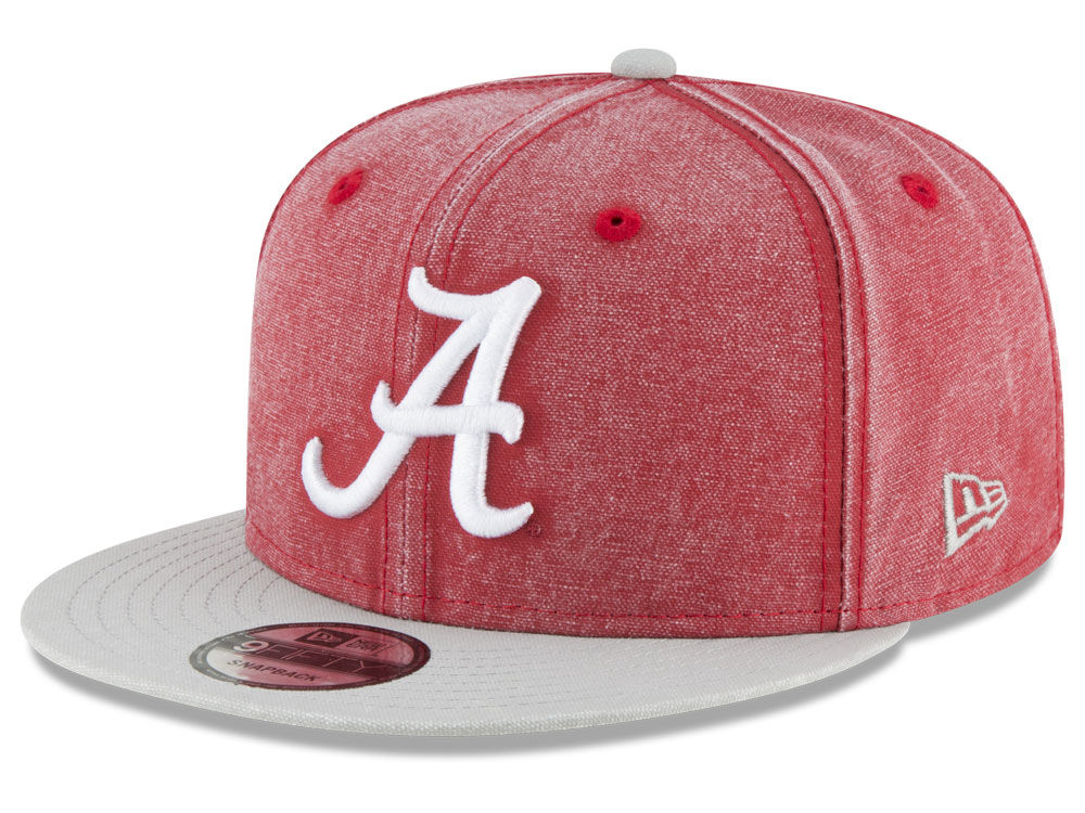 new style 0f794 2bf00 ... coupon code for alabama crimson tide new era ncaa rugged canvas 9fifty  snapback cap lids 6550f