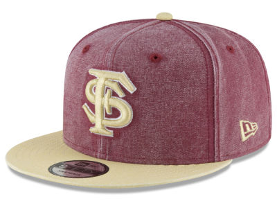 Florida State Seminoles New Era NCAA Rugged Canvas 9FIFTY Snapback Cap