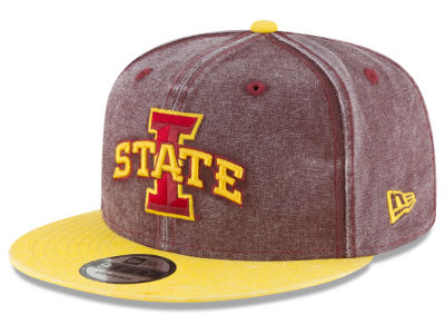 Iowa State Cyclones New Era NCAA Rugged Canvas 9FIFTY Snapback Cap