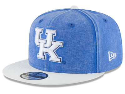 Kentucky Wildcats New Era NCAA Rugged Canvas 9FIFTY Snapback Cap