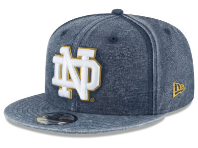 Notre Dame Fighting Irish New Era NCAA Rugged Canvas 9FIFTY Snapback Cap