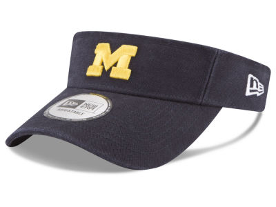Michigan Wolverines New Era NCAA Dugout Redux Visor