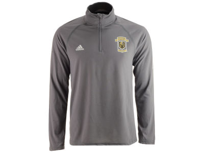 Vegas Golden Knights adidas NHL Men's Inaugural Season Ultimate Long Sleeve Quarter Zip Pullover