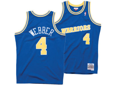 Golden State Warriors Chris Webber Mitchell & Ness NBA Men's Hardwood Classic Swingman Jersey