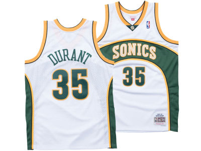 Seattle SuperSonics Kevin Durant Mitchell  Ness NBA Mens Hardwood Classic  Swingman Jersey