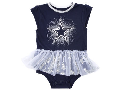 Dallas Cowboys NFL Newborn Girls Prissy Dress