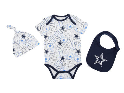 Dallas Cowboys NFL Newborn Tuffy Bib Set