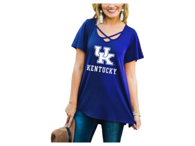 Kentucky Wildcats Gameday Couture NCAA Women's Crossed T-Shirt