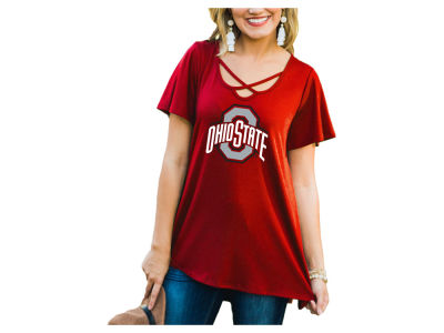 Gameday Couture NCAA Women's Crossed T-Shirt