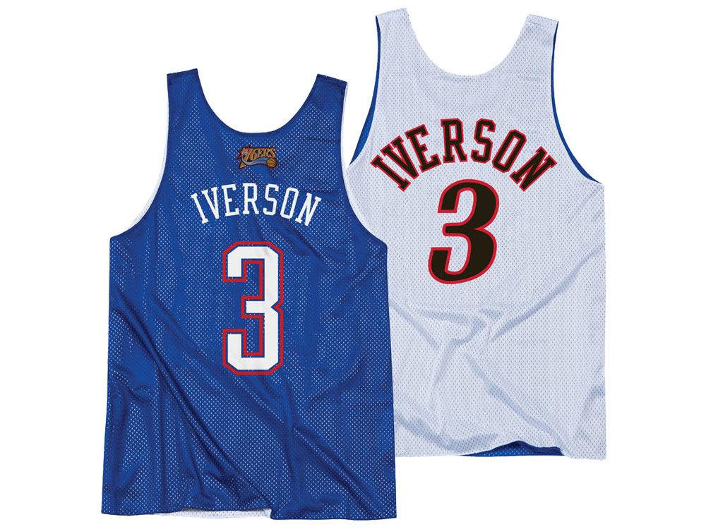 c8e39a8fc NBA All Star Allen Iverson Mitchell   Ness Men s 2004 Reversible Tank