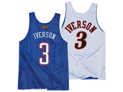 NBA All Star Allen Iverson Mitchell & Ness Men's 2004 Reversible Tank