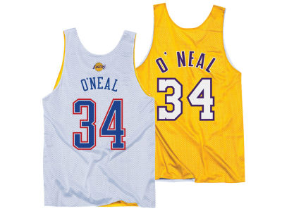 NBA All Star Shaquille O'Neal Mitchell & Ness Men's 2004 Reversible Tank