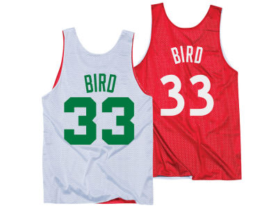 NBA All Star Larry Bird Mitchell & Ness Men's Reversible Tank