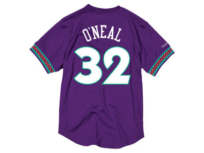 NBA All Star Shaquille O'Neal Mitchell & Ness 1995 Men's Mesh Crew Neck Jersey