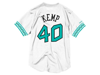 6ec118f7c NBA All Star Shawn Kemp Mitchell   Ness 1996 Men s Mesh Crew Neck Jersey
