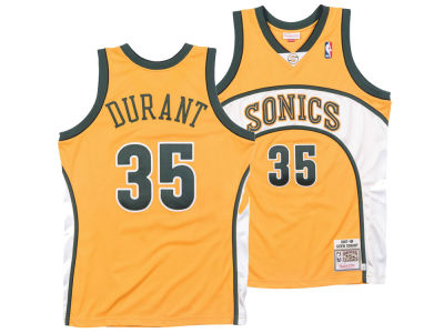 eacf73487d5 Seattle SuperSonics Kevin Durant Mitchell   Ness NBA Authentic Jersey