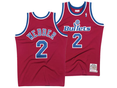 Washington Bullets Mitchell & Ness NBA Authentic Jersey