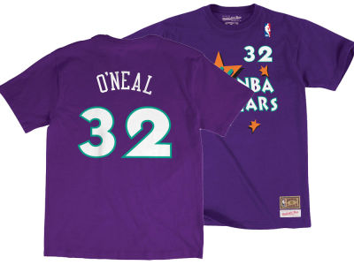 NBA All Star Shaquille O'Neal Mitchell & Ness 1995 NBA Men's Name & Number Traditional T-Shirt