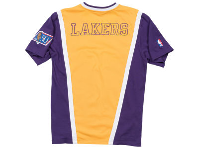 Los Angeles Lakers Mitchell & Ness NBA Men's Authentic Shooting Shirt