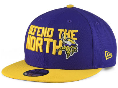 Minnesota Vikings New Era 2018 NFL Draft Spotlight 9FIFTY Snapback Cap