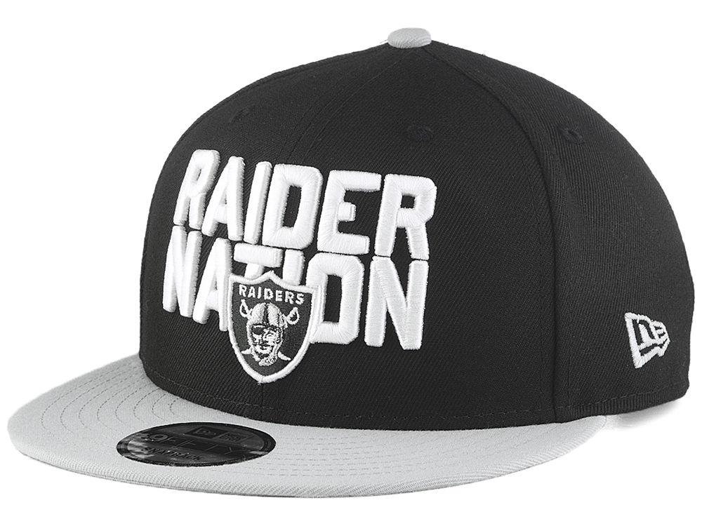 Oakland Raiders New Era 2018 NFL Draft Spotlight 9FIFTY Snapback Cap ... cbe31ad8f79