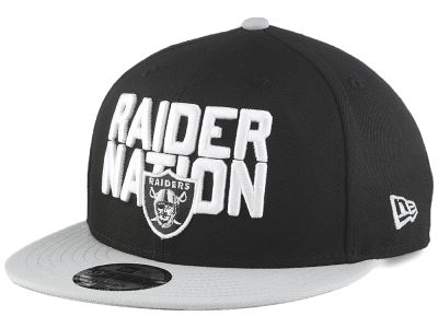 Oakland Raiders New Era 2018 NFL Draft Spotlight 9FIFTY Snapback Cap