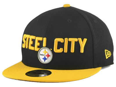 Pittsburgh Steelers New Era 2018 NFL Draft Spotlight 9FIFTY Snapback Cap 159f1aa7c