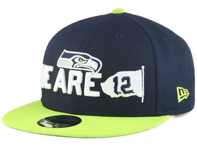 Seattle Seahawks New Era 2018 NFL Draft Spotlight 9FIFTY Snapback Cap